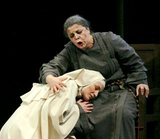 Dialogues des carmélites, opéra de Poulenc photographié par Cyrille Sabatier