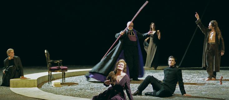 d'après Eschyle, Les Bassarides d'Henze au Théâtre du Châtelet (Paris)