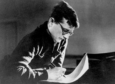 Le compositeur russe Dmitri Chostakovitch