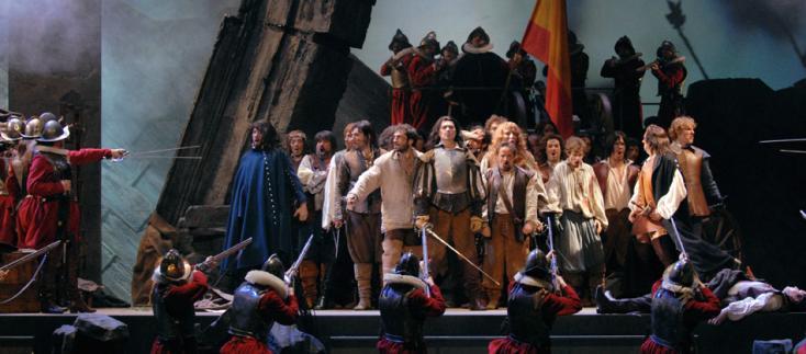 au Châtelet, Petrika Ionesco  met en scène Cyrano de Bergerac d'Alfano
