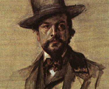 portrait du compositeur Claude Debussy par Paul Rodier