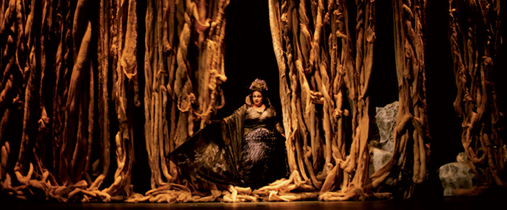 Gilles Abegg photographie Didon et Énée de Purcell à Dijon