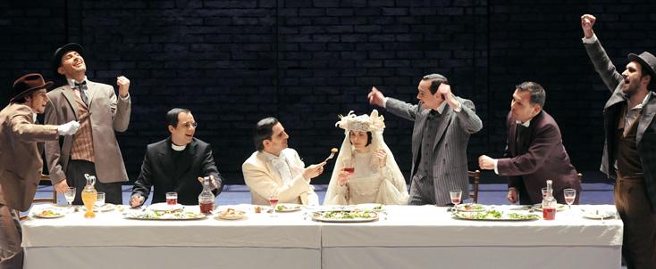 Die Dreigroschenoper de Kurt Weill à l'Opéra de Tours, par F. Berthon