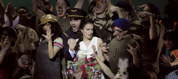 Richard Brunet signe L'elisir d'amore (Donizetti) à l'Opéra de Saint-Étienne