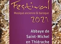 Du 4 juin au 6 juillet 2021, Festival de l'Abbaye de Saint-Michel en Thiérache