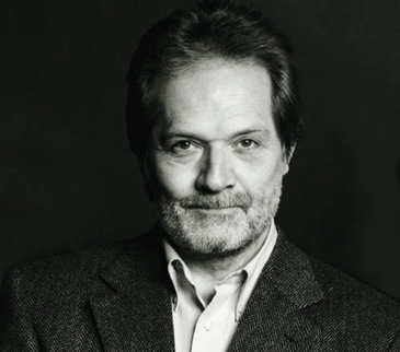 le compositeur et chef hongrois Péter Eötvös par István Huszti