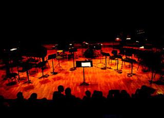 concert du festival Extension photographié par Jean-Marie Legros