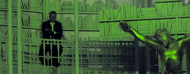Charles Duprat photographie Faust de Gounod à l'Opéra Bastille (Paris)