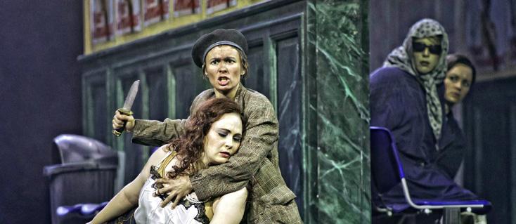 Rupert Larl photographie l'opéra de Telemann à Innsbruck