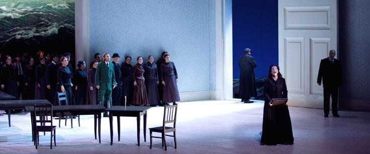 Frédérique Toulet photographie Le vaisseau fantôme (Wagner) à l'Opéra Bastille