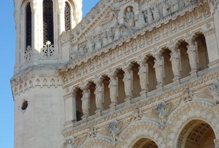 Basilique Notre-Dame de Fourvière (Lyon), par Bertrand Bolognesi