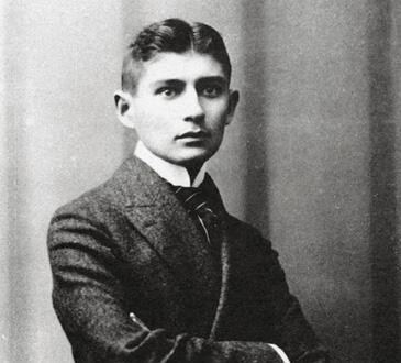 l'écrivain pragois d'expression allemande Franz Kafka