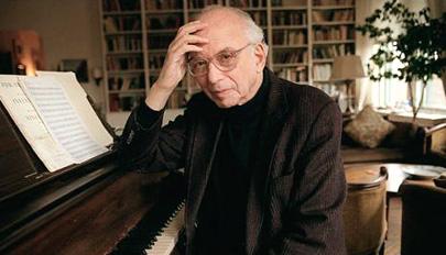 Le compositeur américain George Perle photographié par Sara Krulwich