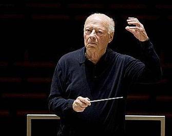 le chef d'orchestre Bernard Haitink joue Mahler à Paris