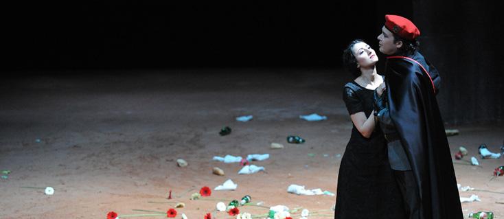 Hamlet, opéra de Thomas d'après Shakespeare, à Saint-Étienne