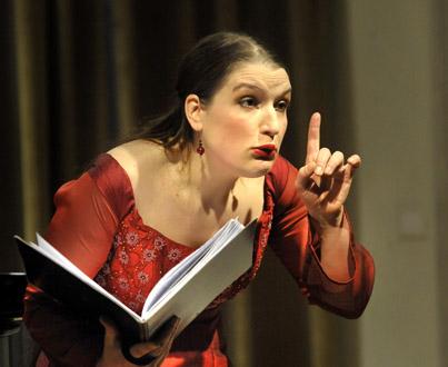 le mezzo-soprano Isabelle Druet chante la romance française à Venise