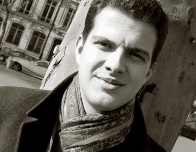 Philippe Jaroussky photographié par le musicologue Bertrand Bolognesi