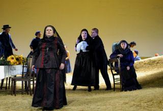 Jenůfa, opéra de Leoš Janáček, à l'Opéra Royal de Wallonie (Liège)