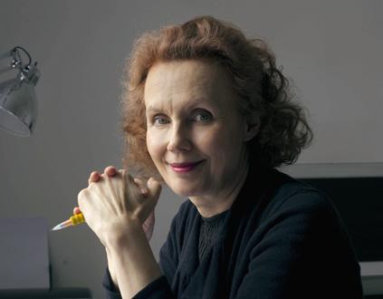 la compositrice finlandaise Kaija Saariaho, pour quelques jours à Caen