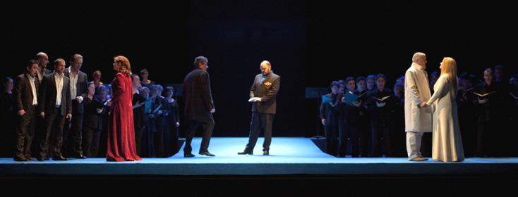 Lohengrin (Wagner) à l'Opéra de Toulon, photographié par Elian Bachini