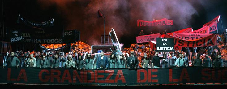 Mahagonny de Kurt Weill au Teatro Real de Madrid