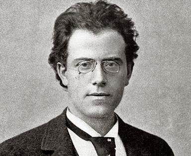 le compositeur austro-hongrois Gustav Mahler (1860-1910) en 1892