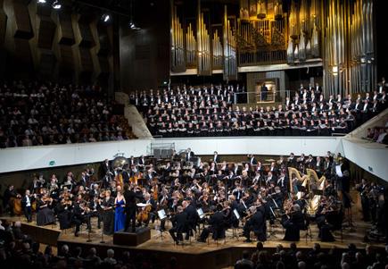 Gert Mothes photographie le concert inaugural du festival Mahler de Leipzig