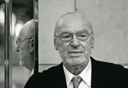 Michael Gielen à la tête du Südwestrundfunk Sinfonieorchester Baden Baden und Fr