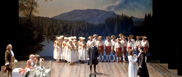Elisabeth Carecchio photographie Mignon (Thomas) à l'Opéra Comique (Paris)