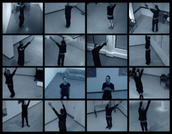 Benny Nemerofsky Ramsay dans la vidéo pop Live to tell