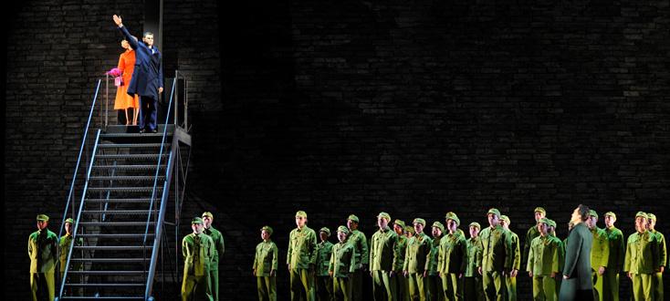 Nixon in China, opéra de john Adams, au Théâtre du Châtelet