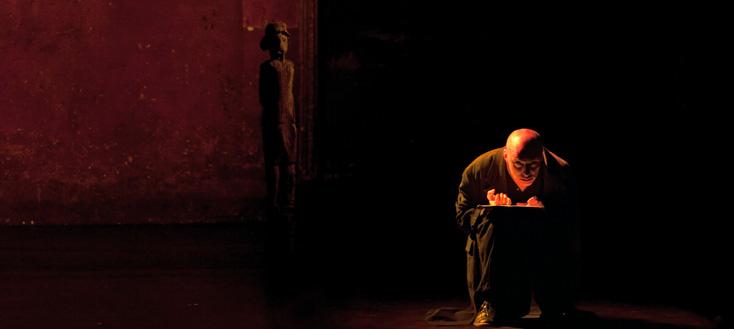 O mensch ! de Dusapin, photographié par Marthe Lemelle