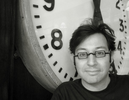 le compositeur argentin photographié à Paris par Bertrand Bolognesi