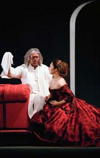 Otello de Verdi dans la mise en scène de Serban à l'Opéra Bastille