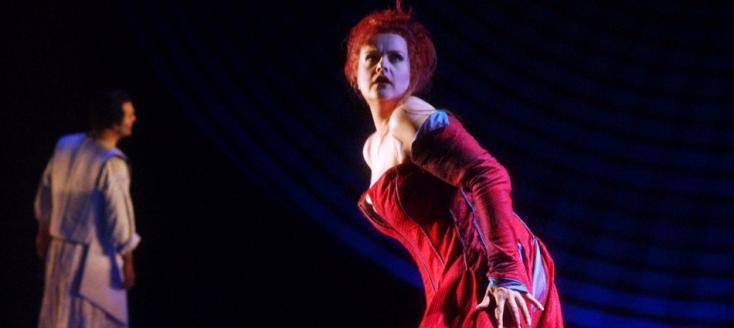 Petra Lang est Kundry à Genève (Parsifal, bühnenweihfestspiel de Richard Wagner)