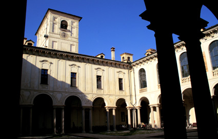 Gilles Cantagrel photographie le Collegio Ghislieri de Pavie (italie)