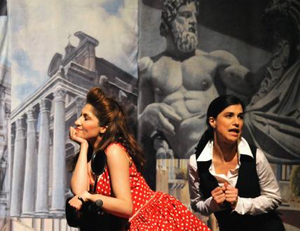 L'incoronazione di Poppea, opéra de Monteverdi, par l'Arcal au Vésinet
