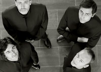 Derek Trillo photographie le Quatuor Danel