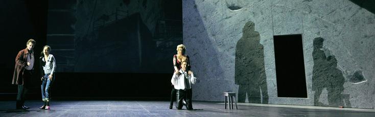 Rigoletto de Verdi à l'Opéra national de Montpellier, production Kœring