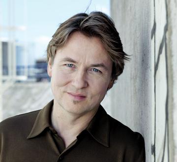 le chef finlandais Esa-Pekka Salonen photographié par Sonja Werner
