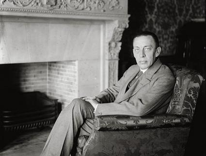 le compositeur russe Sergeï Rachmaninov