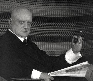 le compositeur Jean Sibelius