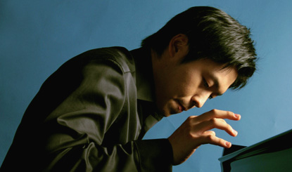 Boun-Sook Koo photographie le pianiste Sunwook Kim