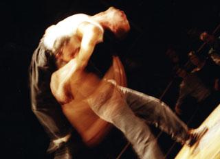 2ème round, chorégraphie d'Olivier Germser