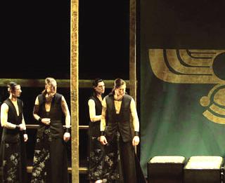 Patrice Nin photographie Temistocle, opéra de JC. Bach, au Capitole