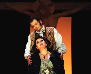 Danièle Pierre photographie Tosca (Puccini) à Tourcoing