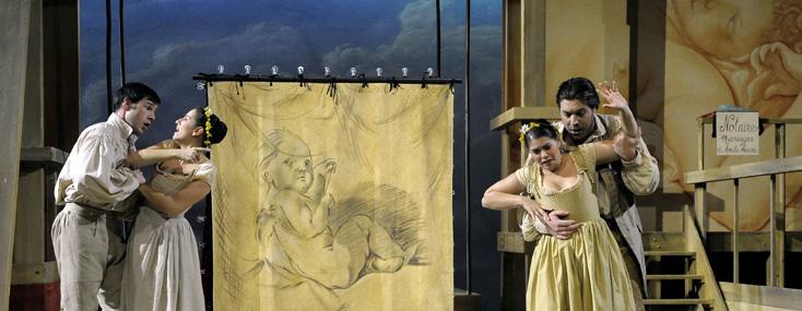 Les troqueurs, opéra de Dauvergne, photographié par Mirco Magliocca