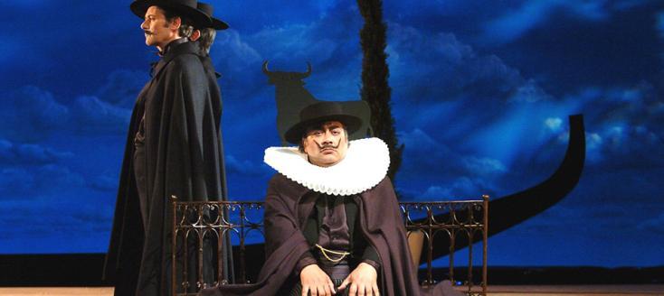 La vedova scaltra, opéra de Wolf-Ferrari, photographié par Marc Ginot