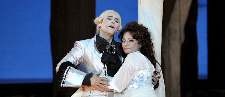 La vera costanza, opéra de Haydn photographié par Cyrille Cauvet